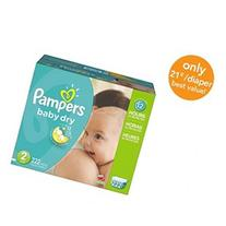 Pampers Baby Dry Size 2 Diapers Economy Plus Pack - 222