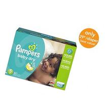 Pampers Baby Dry Size 5 Diapers Economy Plus Pack - 160