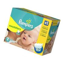 Pampers Swaddlers Size 2 Diapers Super Economy Pack - 162