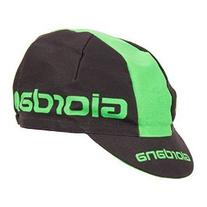 Giordana 2015 3-Panel Cotton Cycling Cap - gi-s5-coca-gior 82f1d8a55