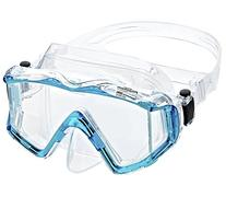 Phantom Aquatics Panoramic Scuba Snorkeling Dive Mask, Aqua