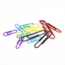 U Brands Paper Clips, Medium 1-1/8-Inch and Large 2-Inch