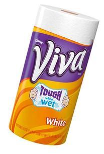 VIVA PAPER TOWEL WHITE BIG ROLL EACH