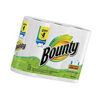 Bounty Paper Towels 3 Select A Size Big Rolls