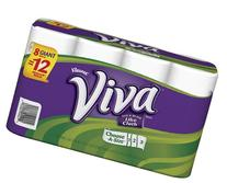Kleenex Viva Paper Towel Rolls - 8 CT