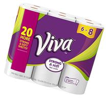 Viva Paper Towels, Choose-A-Size, Big Roll - 6 pk