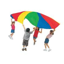 Parachute with Carry Bag Handles: Yes, Size: 24' x 24
