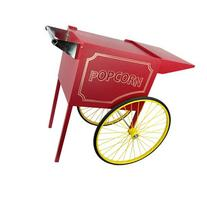 Paragon International Rent A Pop Medium Popcorn Cart