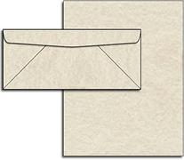 Natural Parchment Paper & Envelopes - 40 Sets