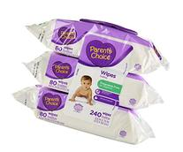 Parents Choice Baby Wipes, Fragrance Free, Quilted Soft,