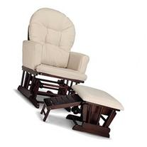 Graco Parker Semi-Upholstered Glider & Nursin - Espresso