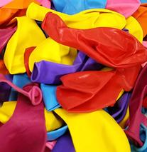 """12"""" Large Latex Party Balloons. Helium Quality. 100 Color"""