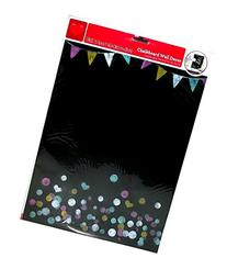 Party Banner, Hearts and Circles Chalkboard Wall Decor 15.16