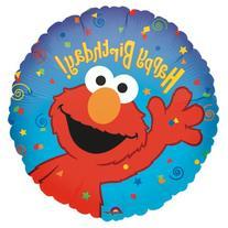 Party Destination 137623 Elmo Loves You 18 in. Foil Balloon