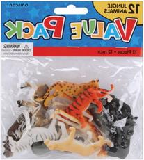 Party Favors 12/Pkg, Jungle Animals