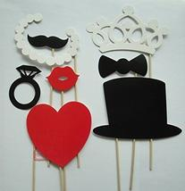 DGI MART Party Funny Photo Props 8 Pieces/set Wedding Party