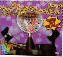 Forum Novelties Party Rotating Mirror Disco Ball with Lights