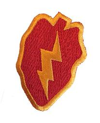e9acf85857a2b PATCH - 25th Infantry Tropic Lightning US Army - MADE IN USA