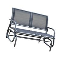 "Outsunny 48"" Outdoor Patio Glider Bench"