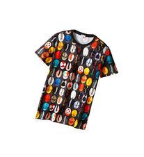 Paul Smith Junior - Caps Printed Short Sleeves Tee Shirt