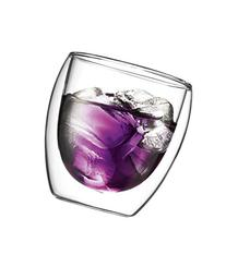 Bodum Pavina 8-Ounce Double Wall Glass, Pack of 2, Small,