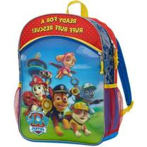 Paw Patrol Ready For A Ruff Rescue 3D FX Lenticular Backpack