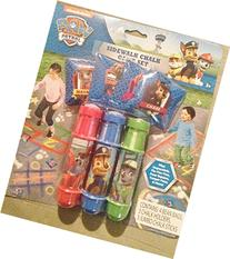 Paw Patrol Sidewalk Chalk and Bean Bag Game set