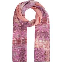 Monsoon Payton Paisley Patchwork Border Scarf