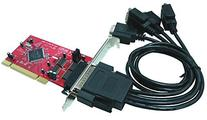 Ableconn PCI4S-954 4 Port RS232 PCI Serial Adapter Card with