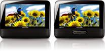 Philips PD7012/37 7-Inch LCD Dual Screen Portable DVD Player
