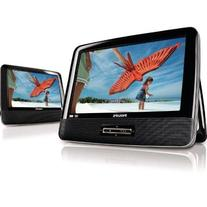 "Philips PD9012/17 9"" Widescreen Portable DVD Player w/"