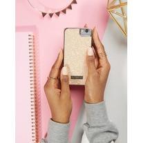Skinnydip Peach Glitter iPhone 6/6S/7 Case