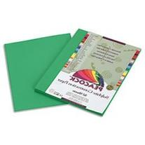 Peacock Sulphite Construction Paper, 76 Lbs, 9 X 12, Holiday