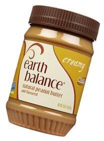 Earth Balance Natural Peanut Butter - Creamy - 16 ounces