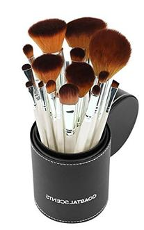 Coastal Scents 16 Piece Pearl Brush Set in