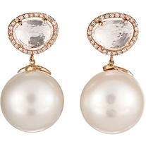 Samira 13 Pearl Drop Earrings