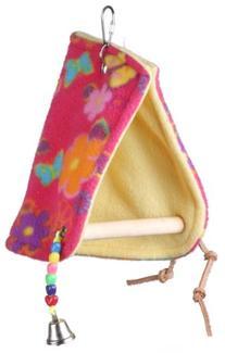 Super Bird Creations Peekaboo Perch Tent, 12 by 6.5-Inch, Medium Bird Toy