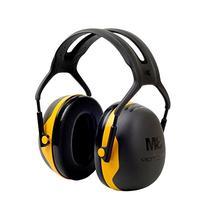 3M Peltor X-Series Over-the-Head Earmuffs, NRR 24 dB, One