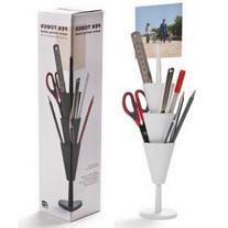Pen Tower Pencil Holder White Desk Organizer Pen Box