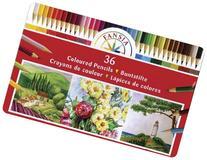 Pro Art Colored Pencil Tin Set, 36-Piece