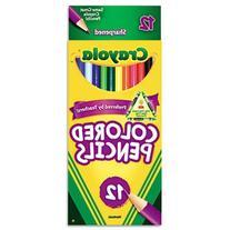 Crayola Long Barrel Colored Wood-case Pencils, Assorted