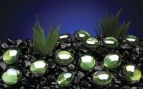 Penn Plax PP03554 Gem-Stones Pearls Green