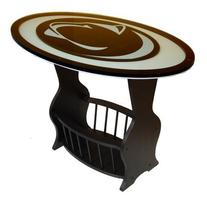 Penn State Nittany Lions Glass End Table