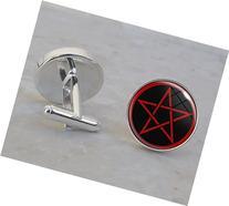 Pentagram Sterling Silver Cufflinks