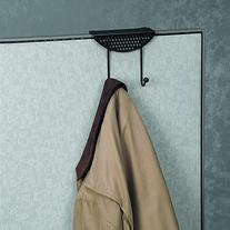 Fellowes Perf-ect Partition™ Coat Hook, Black