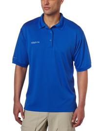 Columbia Men's Perfect Cast Polo, Vivid Blue, Medium