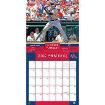 Turner Perfect Timing 2015 Atlanta Braves Team Wall Calendar