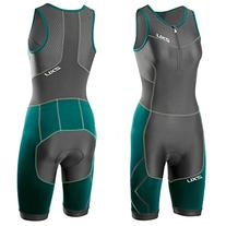 2XU Women's Perform Compression Trisuit, Small, Charcoal/