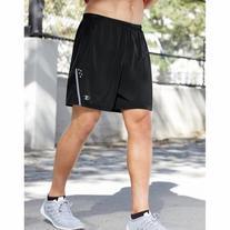 Champion Men's Performax Marathon Running Shorts, Black/