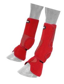 Tough 1 Performers 1st Choice Combo Boots, Red, Medium